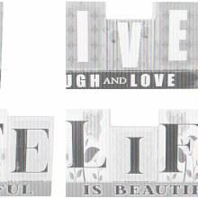 """Live/Life"" Reversible Table B"