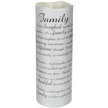 Family Sonnet Candle