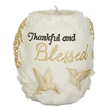 Thankful Tealight Holder