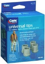 """Tip wlkr/bath gray 1-1/8"""" tip"""
