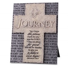 Journey Cast Stone Plaque
