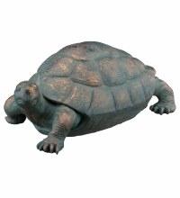 """Garden Tortoise Statue 14.75"""""""