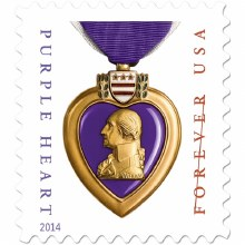 Purple Heart Forver Stamp