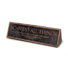 I Can Do All Things Plaque