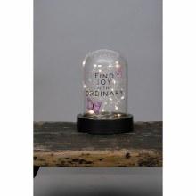 """""""Find Joy"""" Dome Lantern"""