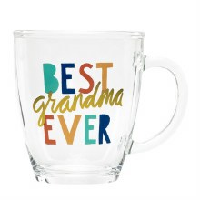 Best Grandma Ever Glass Mug