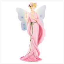 FLORAL FAIRY WITH ROSE