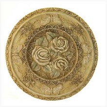 VICTORIAN ROSE STEPPING STONE/