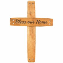 Bless Our Home Wall Cross