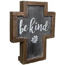 Be Kind Rustic Cross