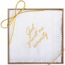 """Serenity"" Boxed Handkerchief"