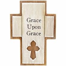 """Grace"" 5"" Mini Pedestal Cross"