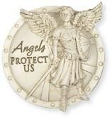 Angels Protect Us Visor Clip