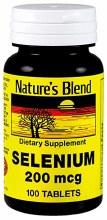 N/b selenium 200 mcg tab 100