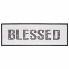 """Blessed"" Framed Wall Décor"