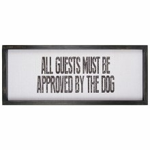 ALL GUESTS Wall Decor 20""