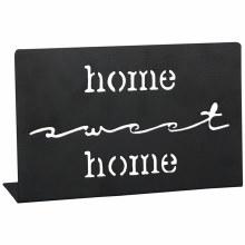 """""""Home Sweet Home"""" Metal Cutout"""