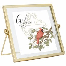 """God Loves You"" Table Décor"