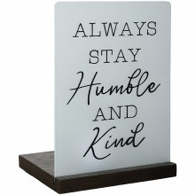"""Humble And Kind"" Tealight Tab"
