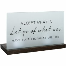 """Have Faith"" Table Décor"