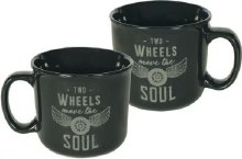 Two Wheels Guardian Eagle Mug