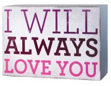 Always love you wall decor