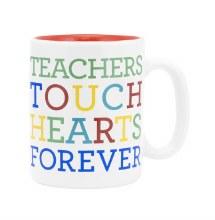 Teachers Touch Hearts Mug