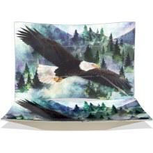 """Eagle Rectangle Plate 13"""""""