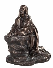 Bronze Jesus Of Nazareth 12""