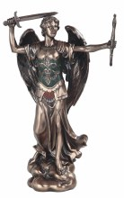 Bronze Archangel Michael 12""