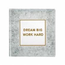 Dream Big Glass Paperweight