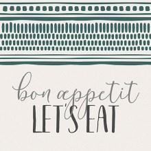 """""""Let's Eat"""" Trivet"""