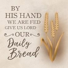"""Daily Bread"" Trivet"