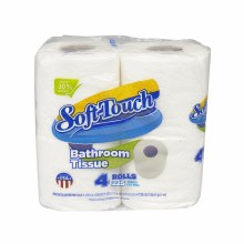 Soft Touch Bathroom Tissue 4pk