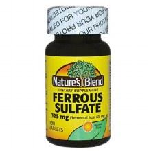 N/b ferrous sulf 325 gmTab 100