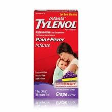 Infant tylenol grape 1oz