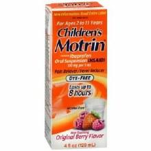 Motrin child d/f berry sus