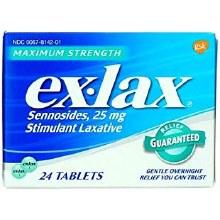 Ex-lax m/r tab 24
