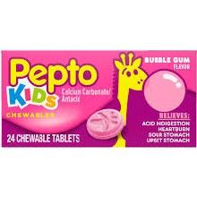 Pepto bismol chld bubble tab 2