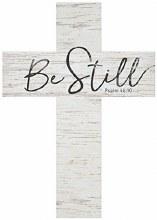 Be Still Wall Cross