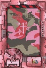 Girls Camo Holy Bible