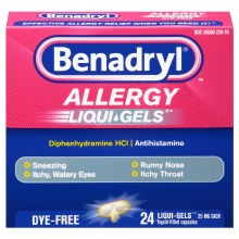 Benadryl Allergy LiquGels