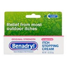 Benadryl itch orig crm 1 oz