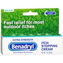 Benadryl x/s crm 1 oz