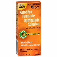 Ketotifen fum .025 % drp 5 ml