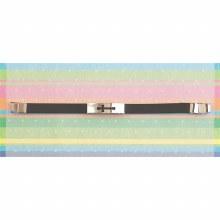 Silver Plate Cross Bracelet BK