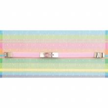 Silver Plate Cross Bracelet PK