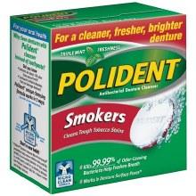 Polident smoker 40 tab