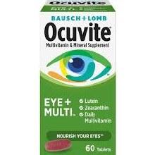 OCUVITE EYE+MULTI 60 TAB
