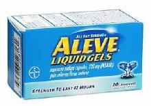 Aleve 220 mg 20caps